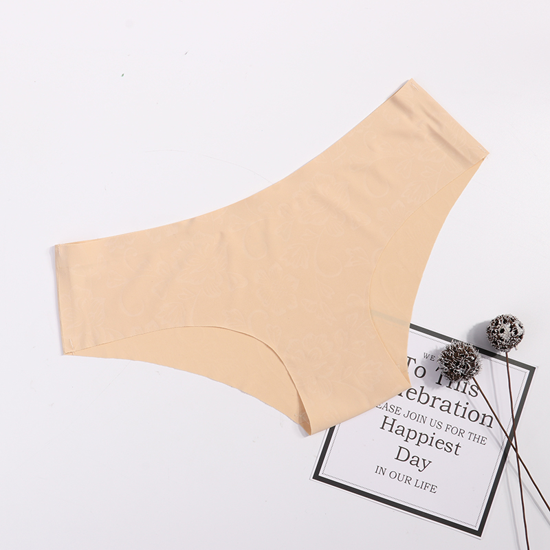 Panties Seamless Briefs for Women Underwear Cute Comfortable Bikini Ladies Invisible Traceless Panty Girls Sexy Lingerie 3 pcs 3