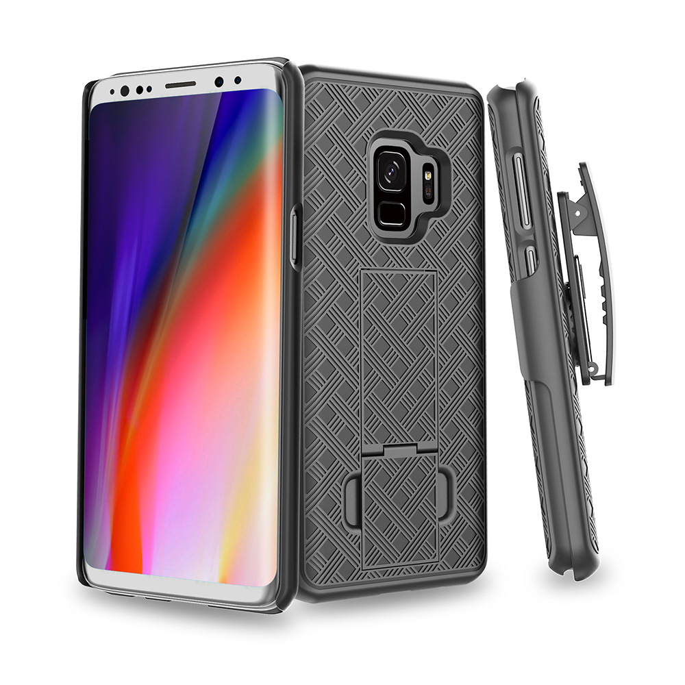 Kickstand Case Swivel Belt Clip Phone Case Waist Clip Cover Sport Holder For Sumsung Galaxy S10 E S8 S8+ S9 S9+ Note 8 9