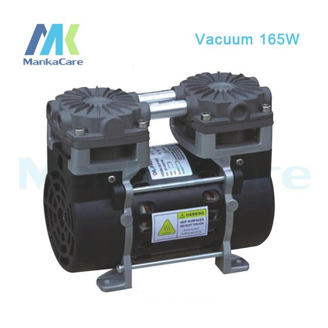 Manka Cuidar-110 V/220 V (AC) 50L/MIN 165 W elétrico pequeno vácuo de pistão bomba/Silencioso Bombas/Menos Óleo/Oil Free/Bomba de Compressão