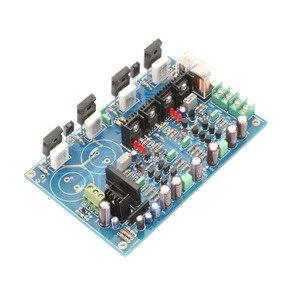 Image 2 - Placa amplificadora KYYSLB 120W * 2 A3, transistor de efecto de campo diferencial doble totalmente simétrico IRFP240 IRFP9240, placa amplificadora