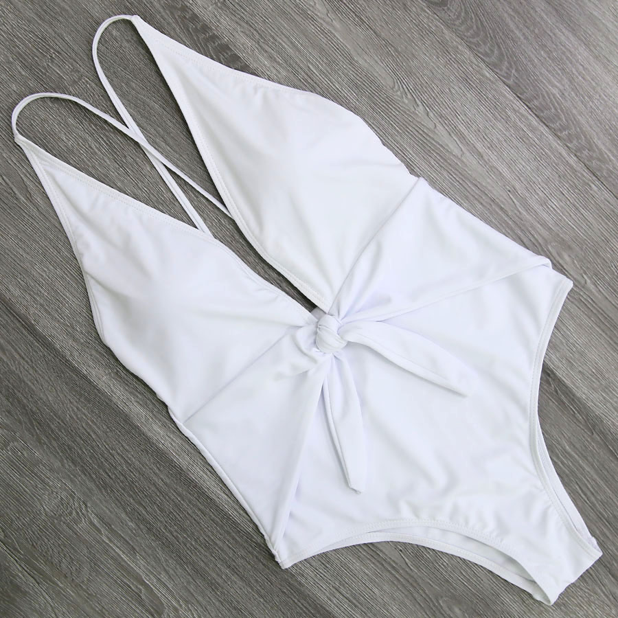 2018 Sexy Swimsuit Women Swimwear One Piece Bodysuit Push Up Monokini 1