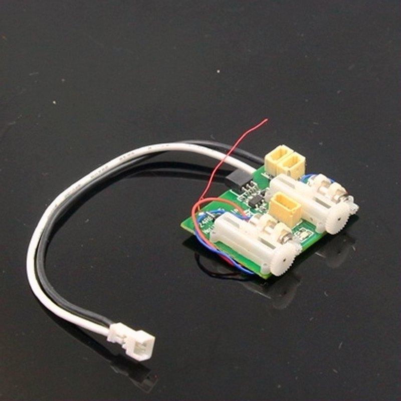 AR6400 AR6410L DSM2 6 canaux Ultra Micro récepteur avec intégré brossé ESC 2 servos linéaires pour avion RC