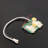 AR6400 AR6410L DSM2 6 Channel Ultra Micro Receiver with intergrated brushed ESC 2 linear servos for RC aircraft