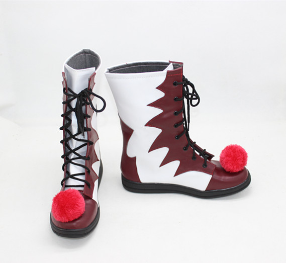Halloween Stephen King's It Clown Pennywise Shoes Mens Women Cosplay Costumes Boots Custom Made