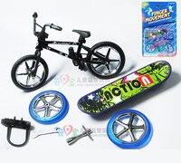 2015 Профессиональный Флик Трикс Finger BMX/Велосипедный Спорт/bicicleta гриф забавная игрушка для Обувь для мальчиков с гаджетом разные цвета достав...