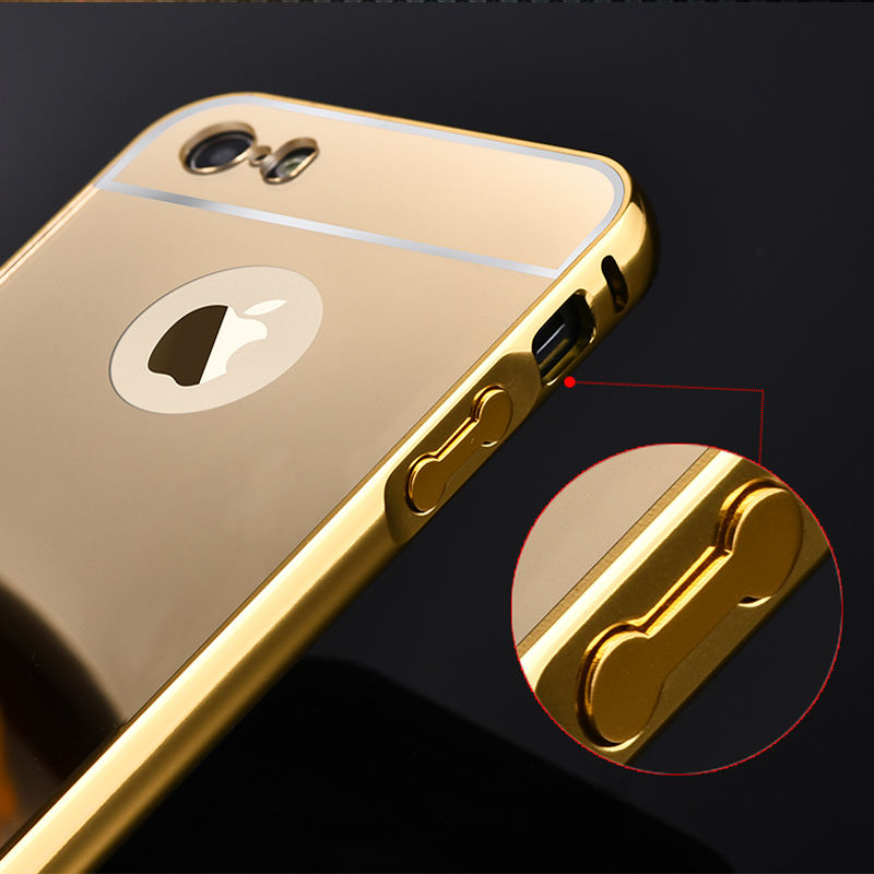 iphone 5s gold case. 5s mirror aluminum case for iphone 5 5g apple hot fashion gold silver acrylic mobile phone cases cover iphone5 s on aliexpress.com | alibaba iphone 5s