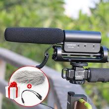 Takstar SGC-598 Fotografia Wywiad Strzelba MIKROFON Mikrofon do Canon Nikon DSLR Camera Kamery DV dla Vloggers/Videomaker