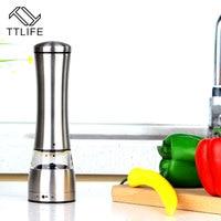 TTLIFE New Stainless Steel Hand Pepper Grinder Muller Cutter for Cooking Kitchen Gadget Kitchen Accessories