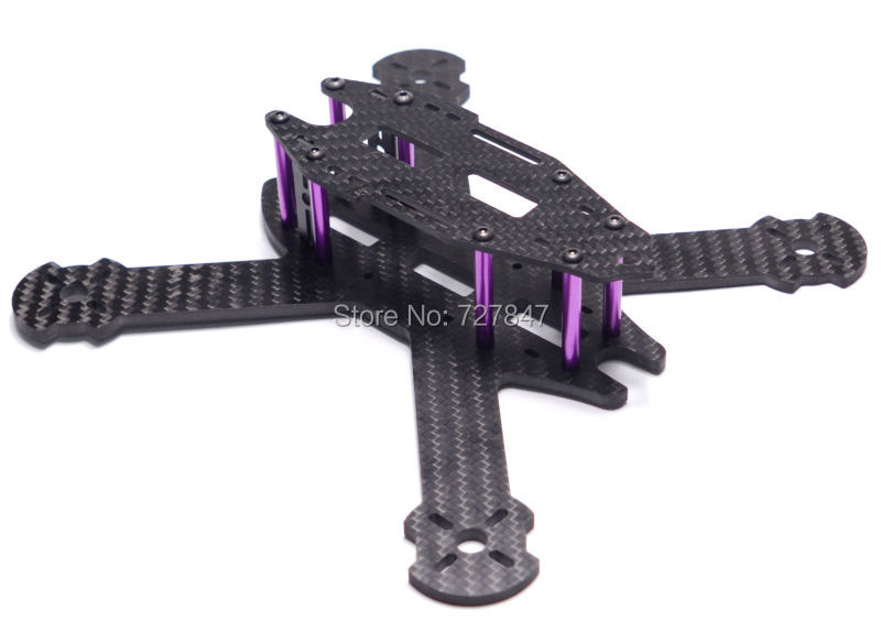 DIY mini 210 210mm full Carbon Fiber FPV Quadcopter Frame Kit with 4mm arm Better than QAV210 RD-210 Tweaker 210 250 quadcopter full carbon fiber frame kit rtf quadcopter with remote controller