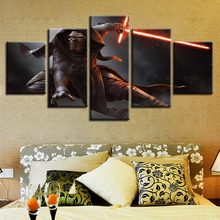 Painting Canvas Wall Art HD Print For Room Modern Decorative 5 Piece Science Fiction Cartoon Movie Star Wars