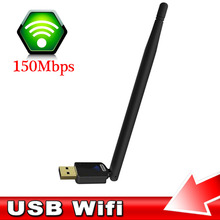 Powerful Mini Wireless WiFi Dongle Network Adapter With 6dBi Antenna 150M USB Network Card For PC Laptop