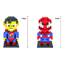 Superhero Building Toys (24 Designs)