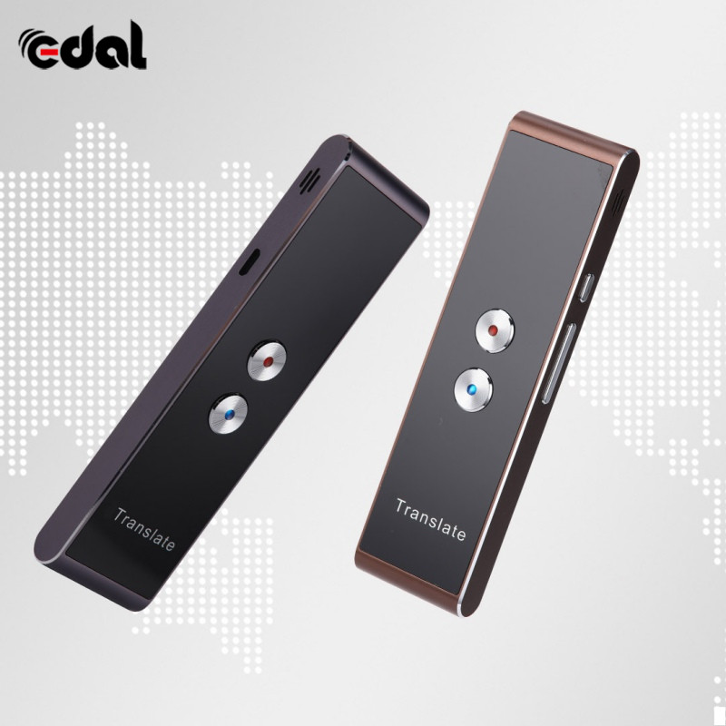Portable Smart Voice Speech Translator Two Way 30 Multi Language Translation For Travelling Business Meeting Learning