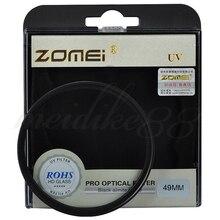 Zomei 40.5/49/52/55/58/62/67/72/77/82/86mm filtro uv de vidro óptico ultra violeta protetor fr lente da câmera digital