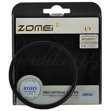 Zomei 40.5/49/52/55/58/62/67/72/77/82/86mm verre optique filtre UV protecteur Ultra Violet fr objectif dappareil photo numérique