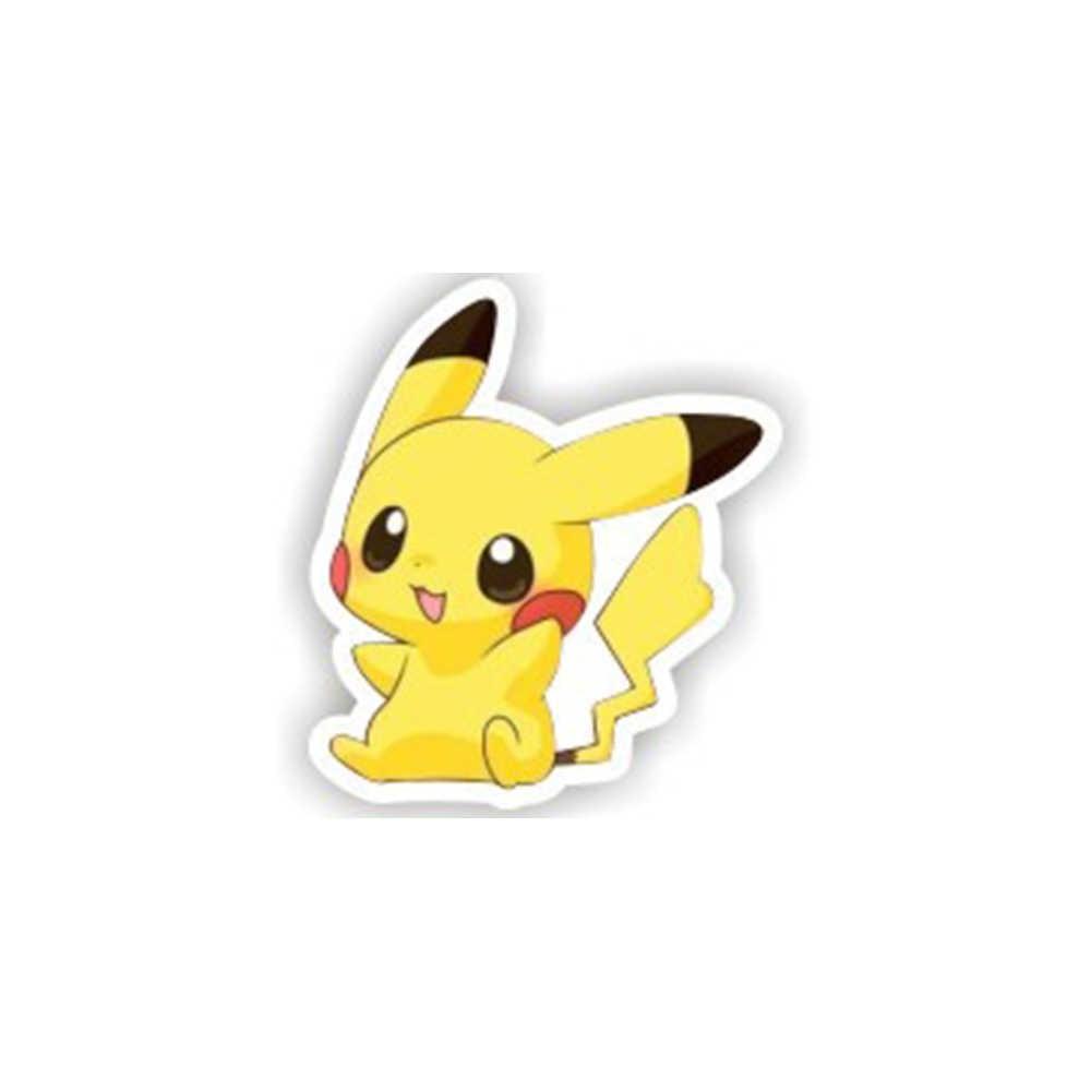 1 Buah Ikon Pokemon Pikachu Lencana Harajuku Acrylic Pin Lencana Anime Kartun Ransel Pin Ikon untuk Topi Tas Syal