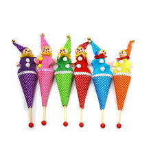 Clown Puppet Toys Baby Educational Kids Hide Seek Bell Telescopic Pop-Up Smile-Face Popular