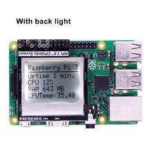 Raspberry Pi 3-Módulo de pantalla de memoria con retroiluminación para Raspberry Pi Zero/1,6/3 /3B +, 1/2 pulgadas, 84x48