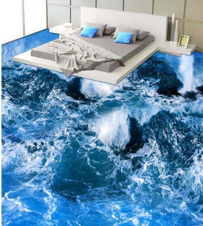 Buy photo floor wallpaper 3d stereoscopic for 3d wallpaper waterproof
