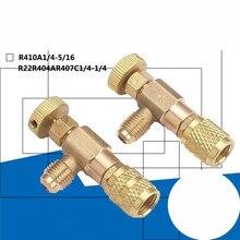 R22/R410 холодильное зарядное устройство адаптер для добавления жидкости контрольный клапан домашний Холодильный инструмент для предохранительного клапана