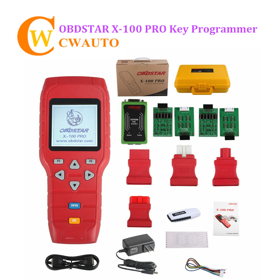 Original OBDSTAR X100 PRO for IMMOBILIZER Key Program + Odometer Correction + OBD Diagnostic Tool Update Online original obdstar f101 for toyota immo g reset tool support g chip all key lost free update via tf card f101 obdstar free ship