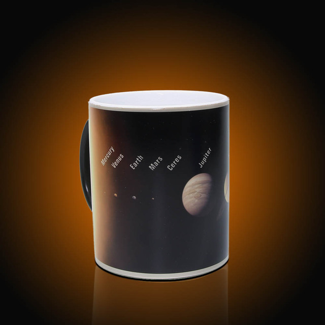 1piece Space Planets Ceramic Mug Astronomy Lovers Gifts For Kids