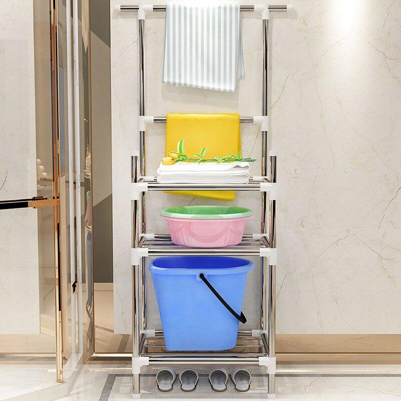Etagère de rangement à 3 couches COSTWAY, gain de supports étagères pour salle de bain W0290-in Égouttoirs et supports from Maison & Animalerie    2