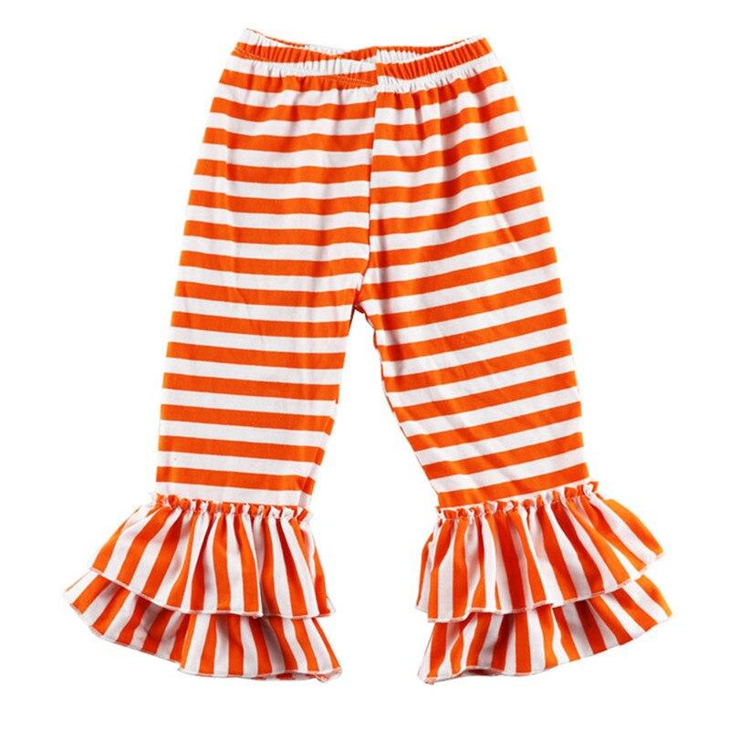 Baby Girl Orange Leggings