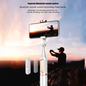 Image 5 - 울란지 SK 01 스마트 폰 블루투스 Selfie 스틱 원격 제어 삼각대 Monopod 유니버설 아이폰 삼성 화웨이 XiaoMi