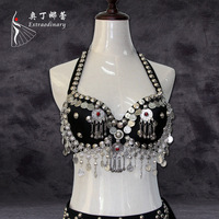 belly dance bra tops 2017 ancient tribal dance performance clothing import accessories