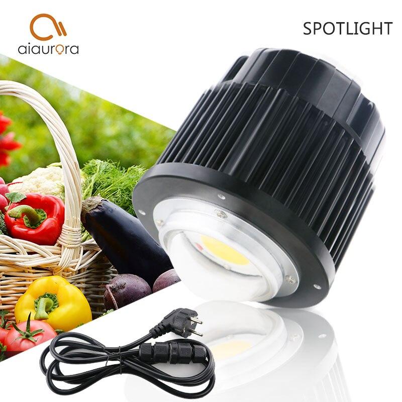 CREE CXB3590 100 W COB citoyen LED grandir lumière spectre complet 12000LM = HPS 200 W lampe croissante pour les lumières de croissance des plantes hydroponiques