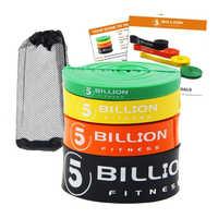 5 млрд сверхмощных латексных резинок для фитнеса набор натяжных лент для силовых тренировок силовых упражнений