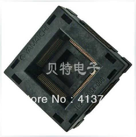 Блок сжигания импортные IC Тесты блок, TQFP100 адаптер ...