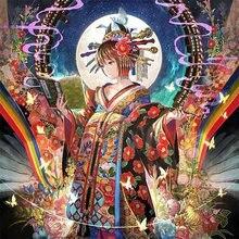 Diy 3d Алмазная Картина Вышивка крестом японское аниме танцор