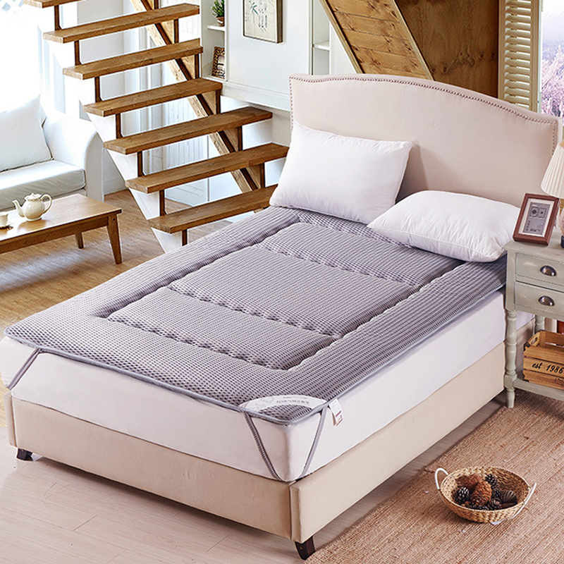 4D Breathable Tatami Thick Warm Foldable Single Or Double Student Dormitory Family Hotels Mattress NEW Topper Quilted Bed 4d breathable tatami thick warm foldable single or double student dormitory family hotels mattress new topper quilted bed