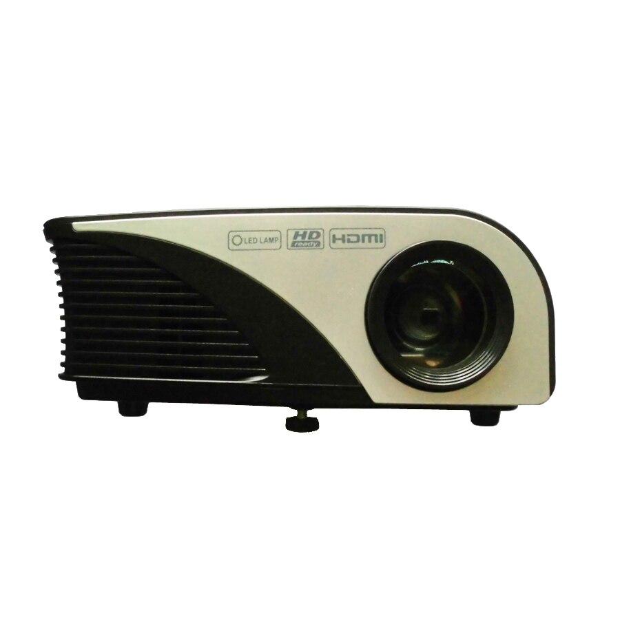 Proyector de 1200 Lúmenes RD-805B Mini LCD LED 3D USB HDMI Proyector de Cine en