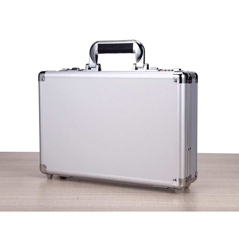 360*240*100mm Aluminum Alloy Tool Box Portable Password Hardware Toolbox High Quality Impact Resistant Safety Case