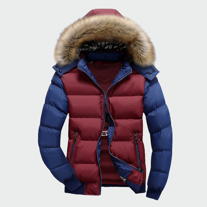 Winter Men's Thick Coats Warm Male Jackets Padded Casual Hooded Thermal   Parkas   New Men Overcoats Mens Brand Clothing M-4XL ML061