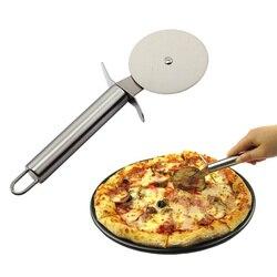 Nóż do pizzy nóż do pizzy ze stali nierdzewnej ciasto chleb ciasta okrągły nóż nóż do pizzy narzędzie do pizzy koła narzędzie do gotowania