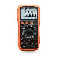 VICTOR VC9806+ Digital Multimeter DMM Ammeter Voltmeter Ohmmeter w/ Capacitance Frequency & hFE Test