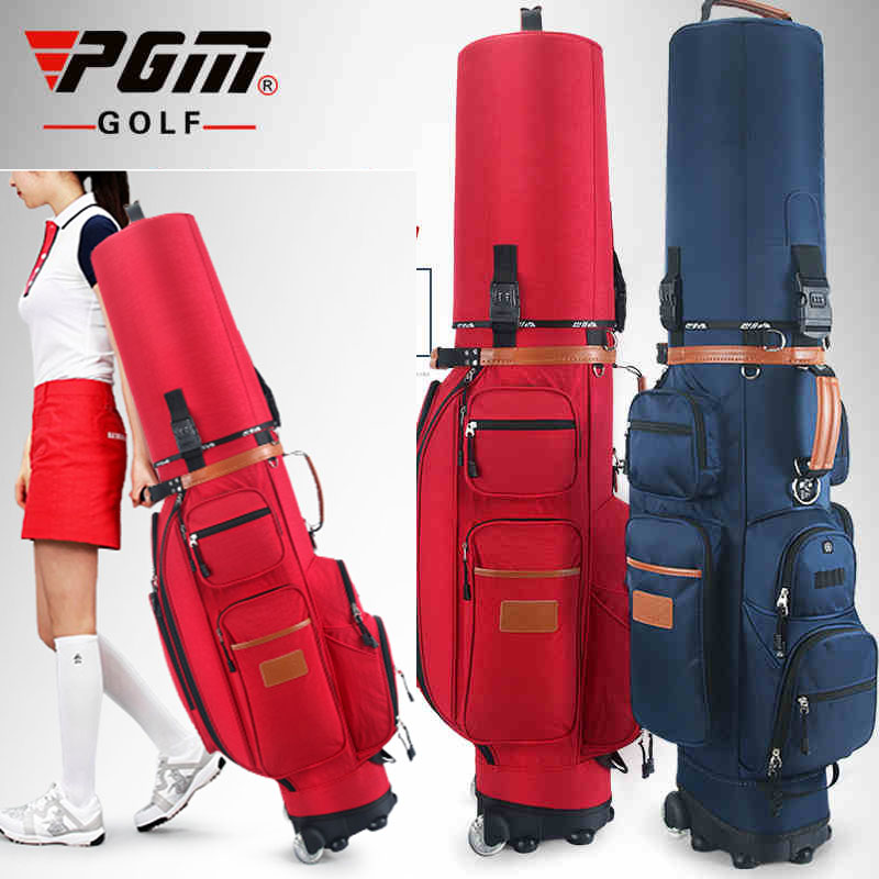 brand PGM, Complete Golf Set Bag Golf Caddy Stand Bag wheel bag, labor-saving Golf air cart bag mizuno aerolite x golf stand bag white royal page 1