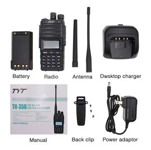 Image 5 - NEW TYT TH 350 Walkie Talkie Tri Band 136 174MHz 220 260MHz 400 470MHz Tri Display 5W High Quality Two way Radio FM Transceiver
