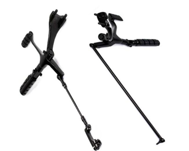 Black Forward Controls Complete Pegs Levers Linkages For