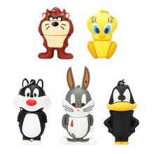 Pen Drive Cute Duck 32gb 64gb 128gb Usb Flash 4gb 8gb 16gb Lovely Cartoon Pendrive USB2.0 High Quality Stick