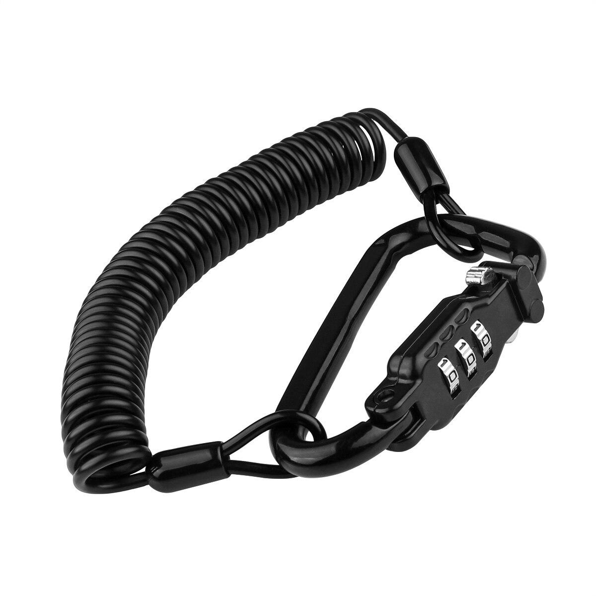 Motorcycle Accessories Password Code Bike Cable Lock