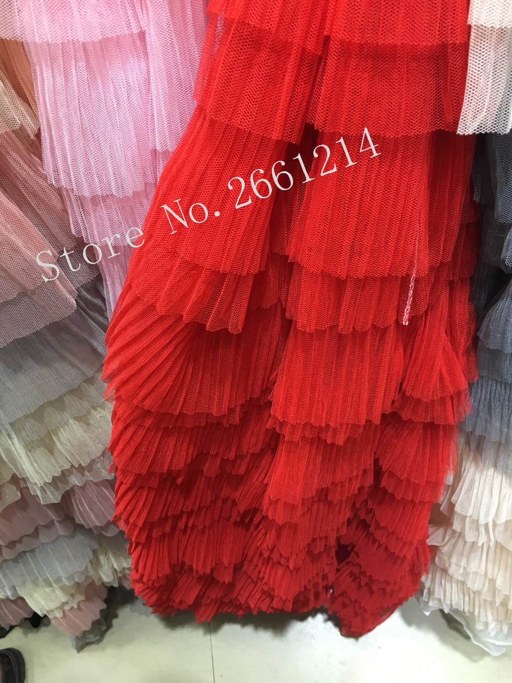 Hot red color african french net sewing summer dress fabric with hot red color african french net sewing summer dress fabric with pretty flowers high quality embroidered mightylinksfo