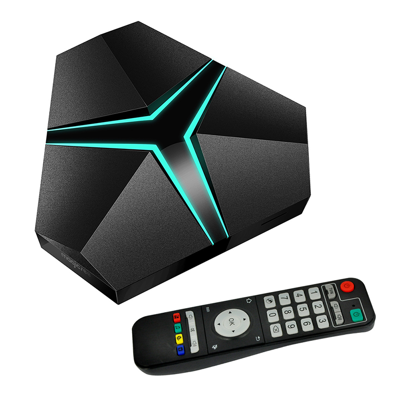 Magicsee Iron+ Smart TV Box Amlogic S912 Octa Core 3GB DDR4 32GB ROM Android 6.0 TV Box Wifi Bluetooth 4.1 4K OTA Media Player