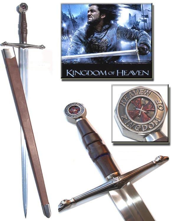 S0108 KINGDOM OF HEAVEN CRUSADER BALIAN OF IBELIN SWORD