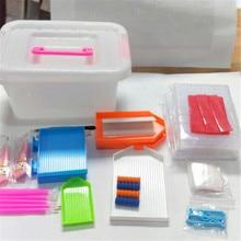 58pcs/lots Diamond painting tool box set DIY diamond 5D embroidery accessories