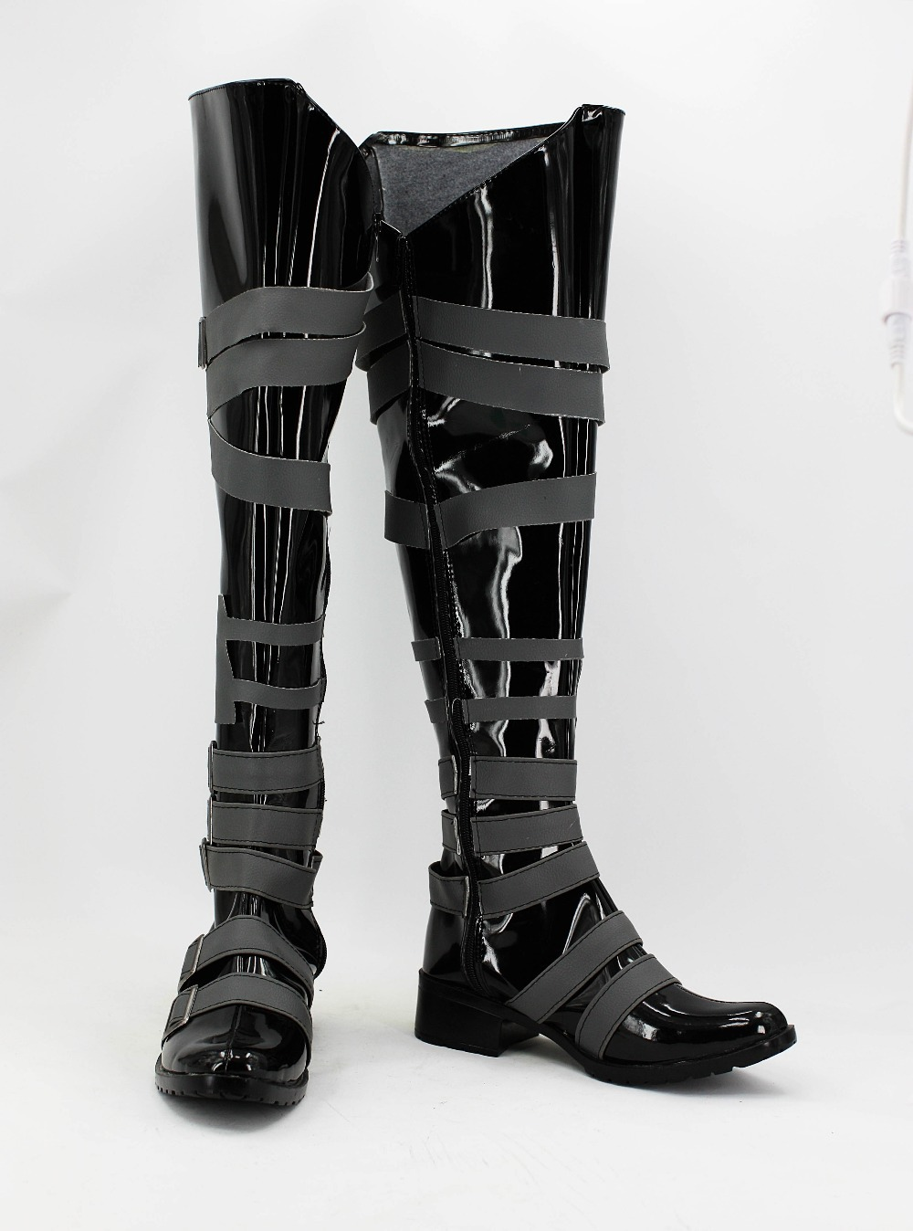 Black Butler  Undertaker  cosplay  Shoes Boots Custom-Made